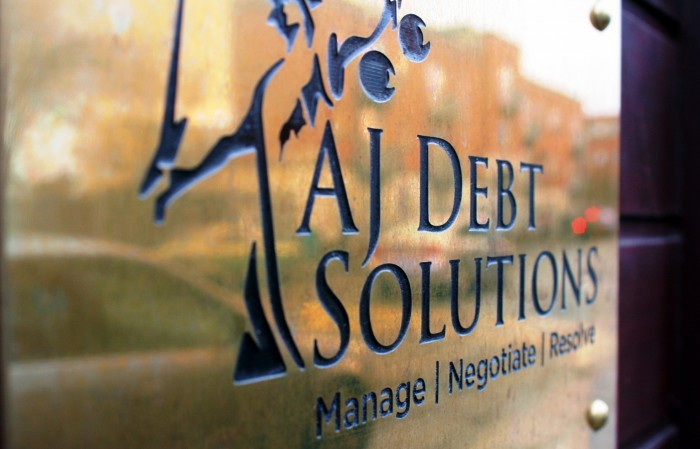 AJ Debt Solutions Home Page Option 2